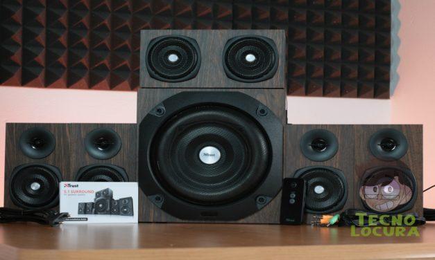 Trust Vigor 5.1 Surround Speaker: REVIEW COMPLETA