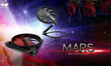 In Win MARS, ventilador ajustable y transformable