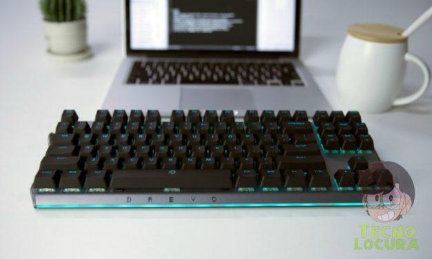 DREVO BladeMaster, el teclado que todos soñamos