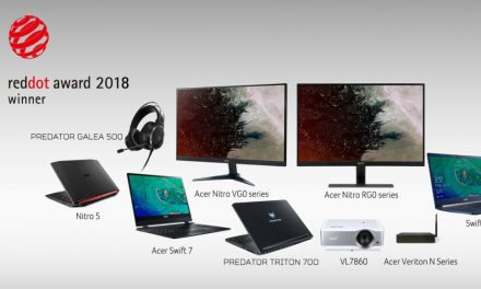 Acer gana 13 premios Red Dot Design 2018