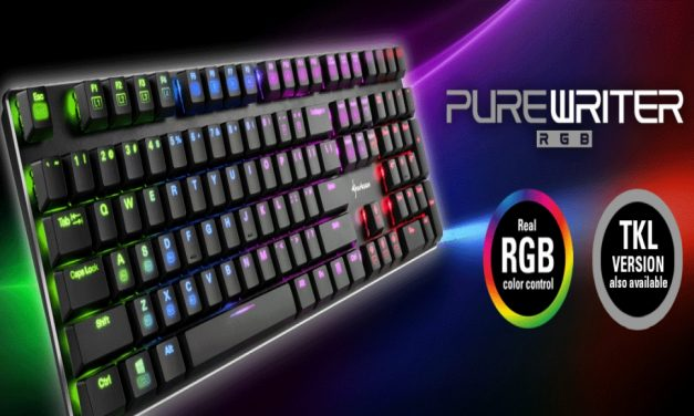 Sharkoon PureWriter RGB y PureWriter TKL RGB