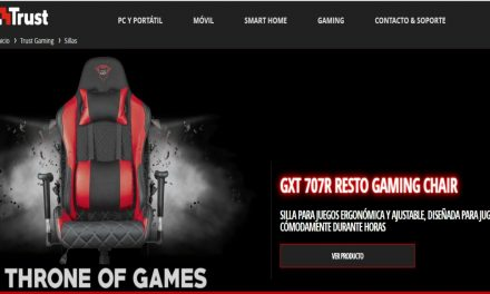 Sillas Gaming: Amplia gama gracias a TRUST GAMING