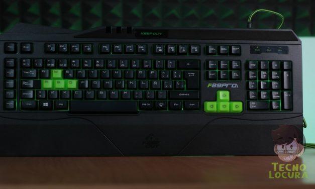 Keep Out F89PRO, ¿será tu teclado para el gaming?