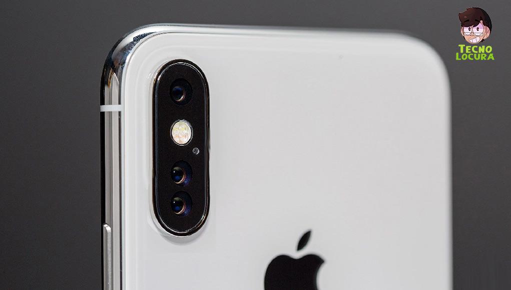 IPhone con triple cámara trasera para el próximo año.