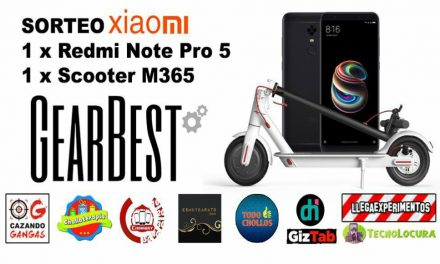 SORTEO Scooter M365 + Redmi Note 5. ¡SE ACABA YA!