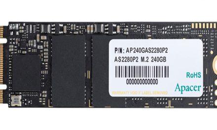 Apacer AS2280P2, su nuevo SSD para la gama media