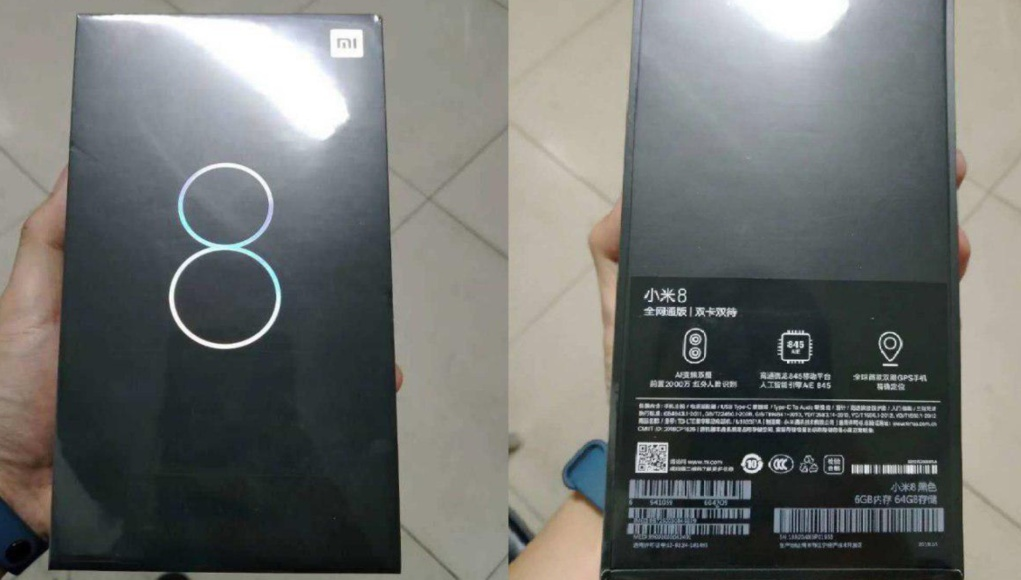 El diseño definitivo de Xiaomi Mi 8 no nos gusta
