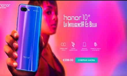Honor 10, presentado el buque insignia con funciones IA