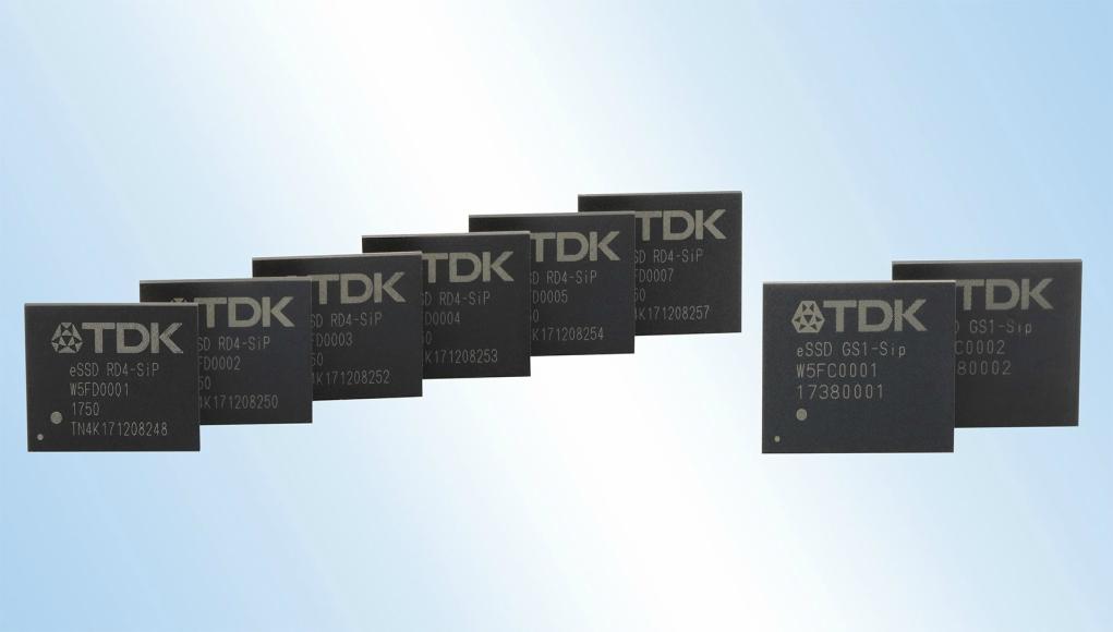 TDK anuncia SNS1B M.2 y SSD incrustados