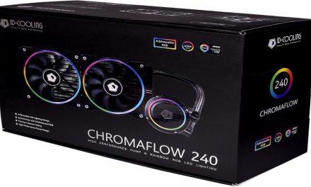 ID-Cooling Chromaflow 240, nueva AIO direccionable RGB