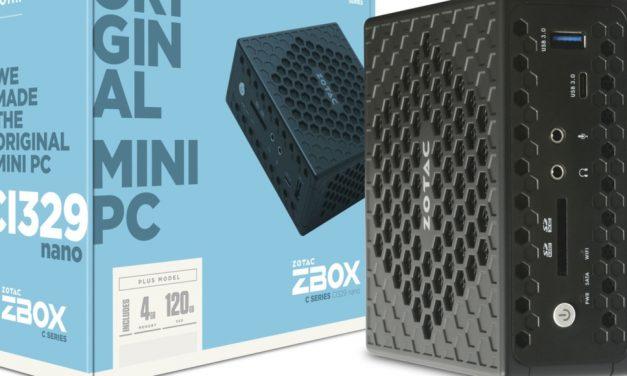 ZOTAC presenta los mini PC pasivos de la serie C