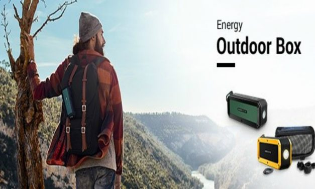 Energy Outdoor Box. Altavoces para los más aventureros