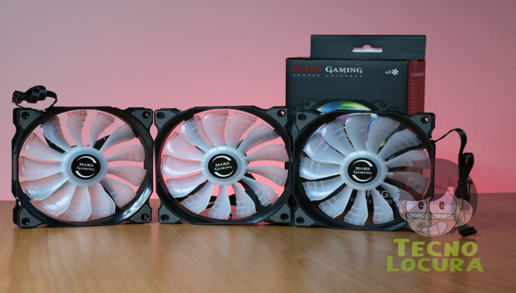 Mars Gaming MFRGB: Ventiladores económicos a review