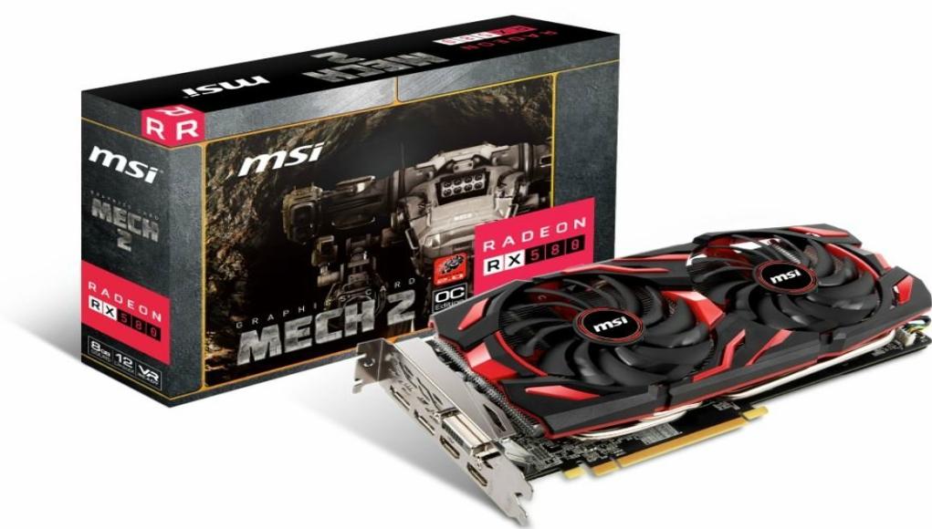 MSI lanza la serie Radeon RX MECH 2