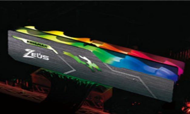 Kingmax Intros Zeus Dragon RGB serie de memoria DDR4