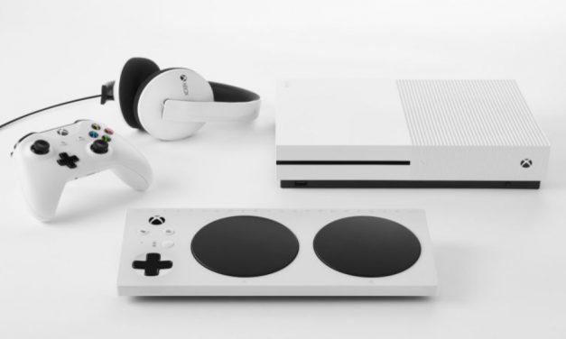 Controlador Adaptativo de Xbox para discapacidades