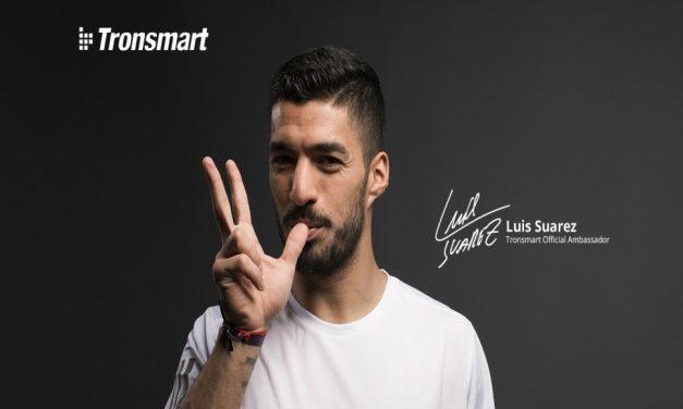 Luis Suárez embajador de la marca Tronsmart