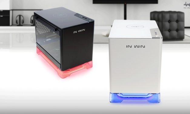 In Win A1, caja ITX con cargador inalámbrico incorporado