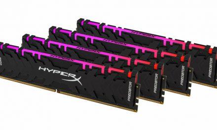 HyperX Predator DDR4 RGB con tecnología de sincronización infrarroja