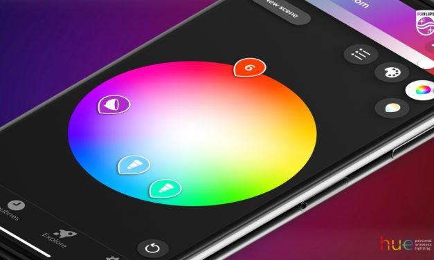 Philips Hue, la mayor actualización de la aplicación