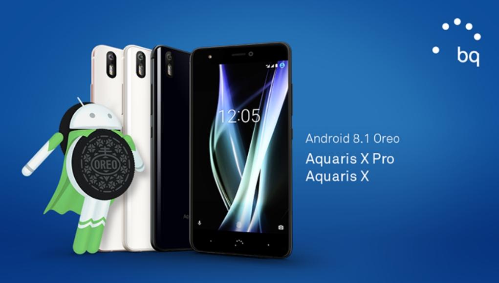 BQ Aquaris X y Aquaris X Pro actualizados a Android Oreo 8.1