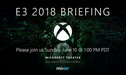 La conferencia E3 de Microsoft tendrá lugar el 10 de junio en Mixer