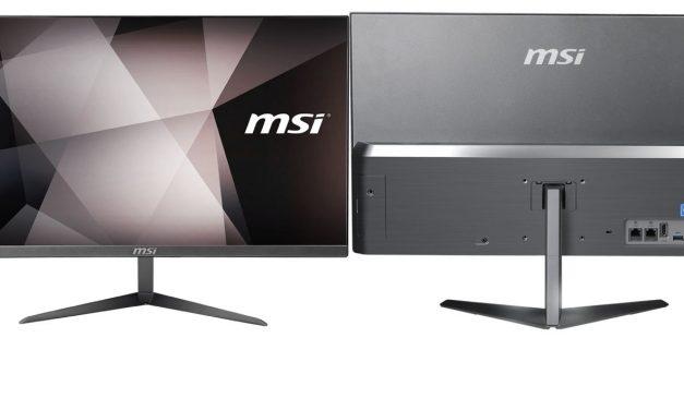 "MSI anuncia los ""All-In-One"" Ultra Slim serie PRO 24X"