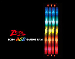 Kingmax Intros Zeus Dragon RGB