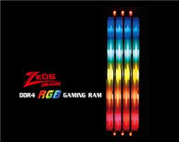 Kingmax Intros Zeus Dragon RGB