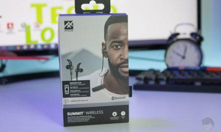 Probamos los auriculares Bluetooth Ifrogz Summit Wireless ¿los Impulse para deportistas?