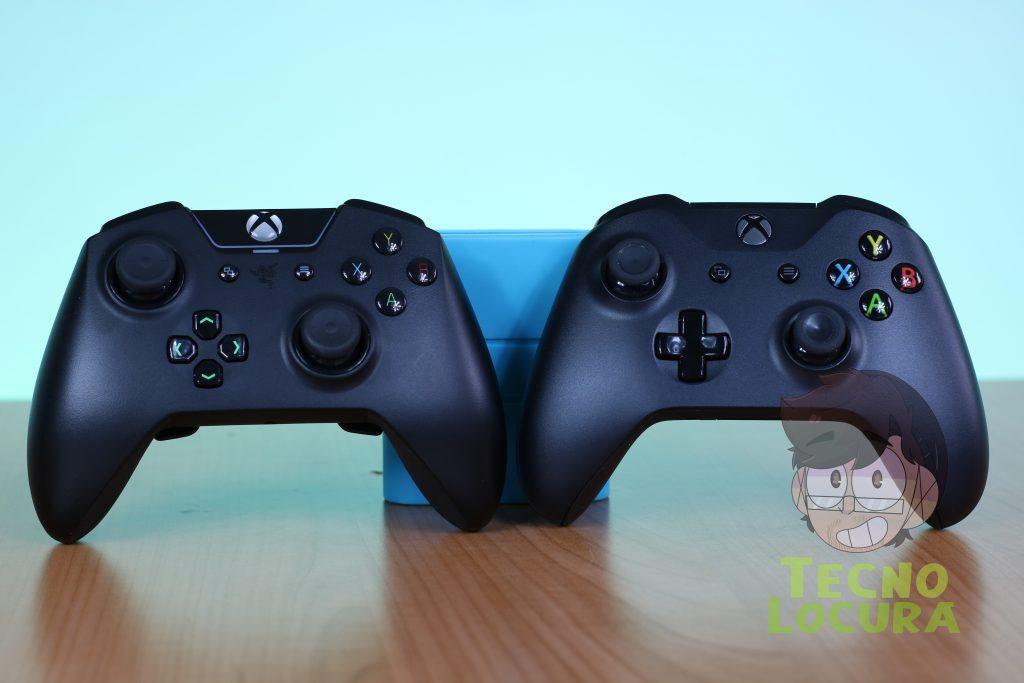 Razer Wolverine Tournament Edition Chroma VS Microsoft Xbox One S controller