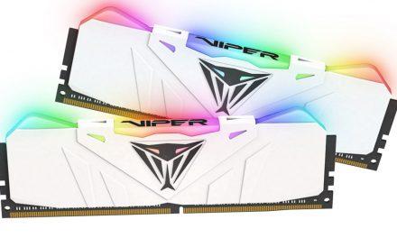 Patriot Viper lanza nuevas memorias RGB DDR4