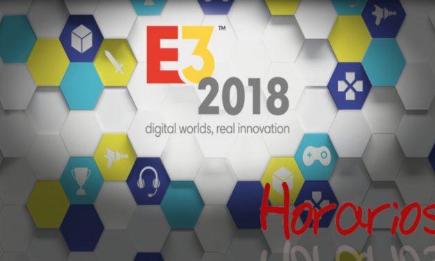 E3 2018: Calendario completo de las grandes conferencias