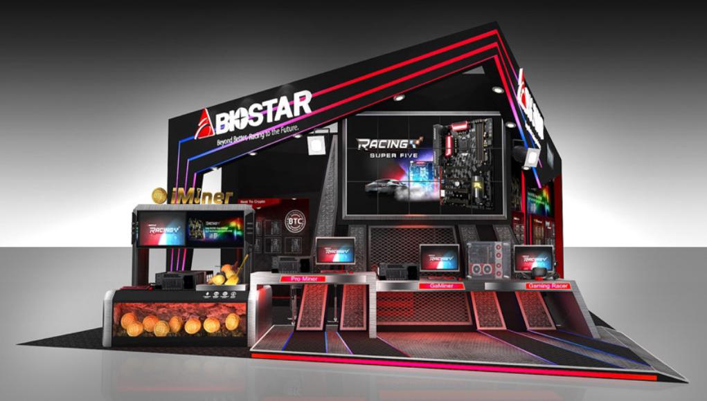 BIOSTAR Crypto Mining, Smart Home y IPC en COMPUTEX 2018