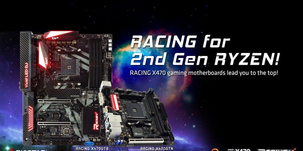 BIOSTAR lanza sus nuevas placas base RACING X470