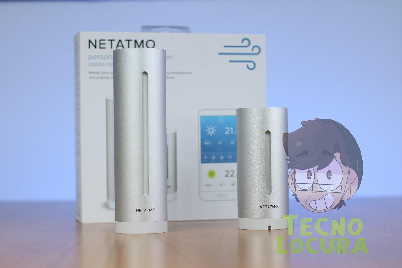 E.M. Inteligente de Netatmo compatible con Apple HomeKit