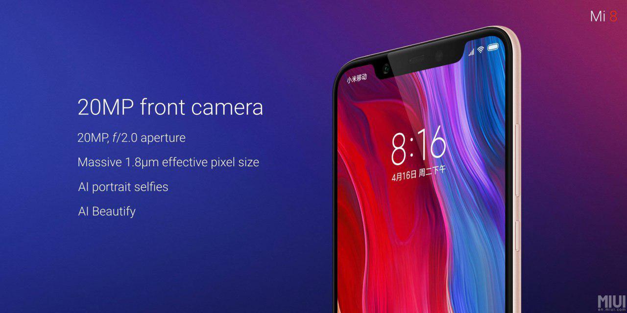 Xiaomi Mi 8 y Mi 8 SE