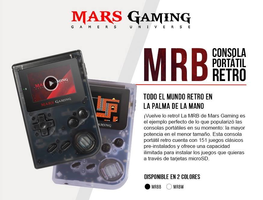 MRB, la GameBoy retro de Mars Gaming