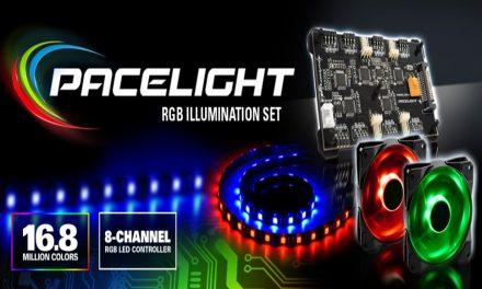 Sharkoon Pacelight: Regulador 8 canales, ventilador y tiras LED