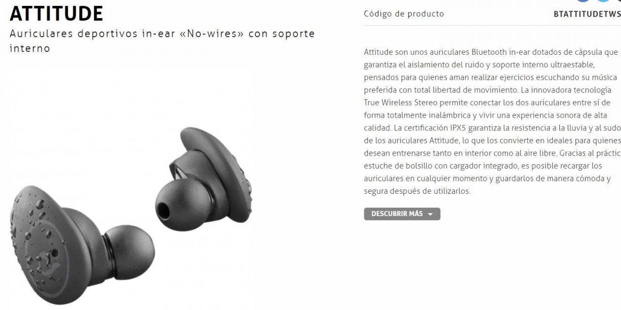 Cellularline ATTITUDE, nuevos auriculares deportivos