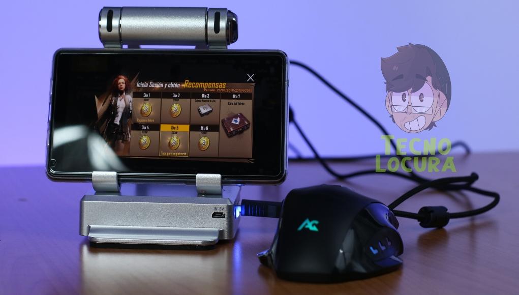 GameSir X1 para jugar a PUBG, Fortnite, CS GO y CoD