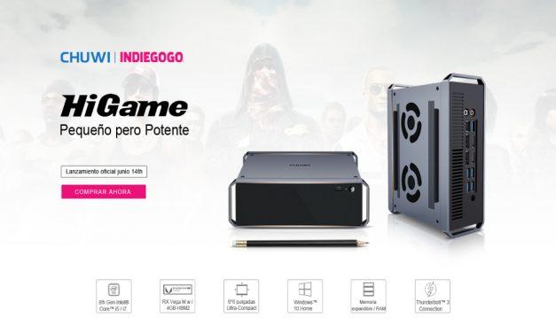 HiGame activo en indiegogo con opciones interesantes