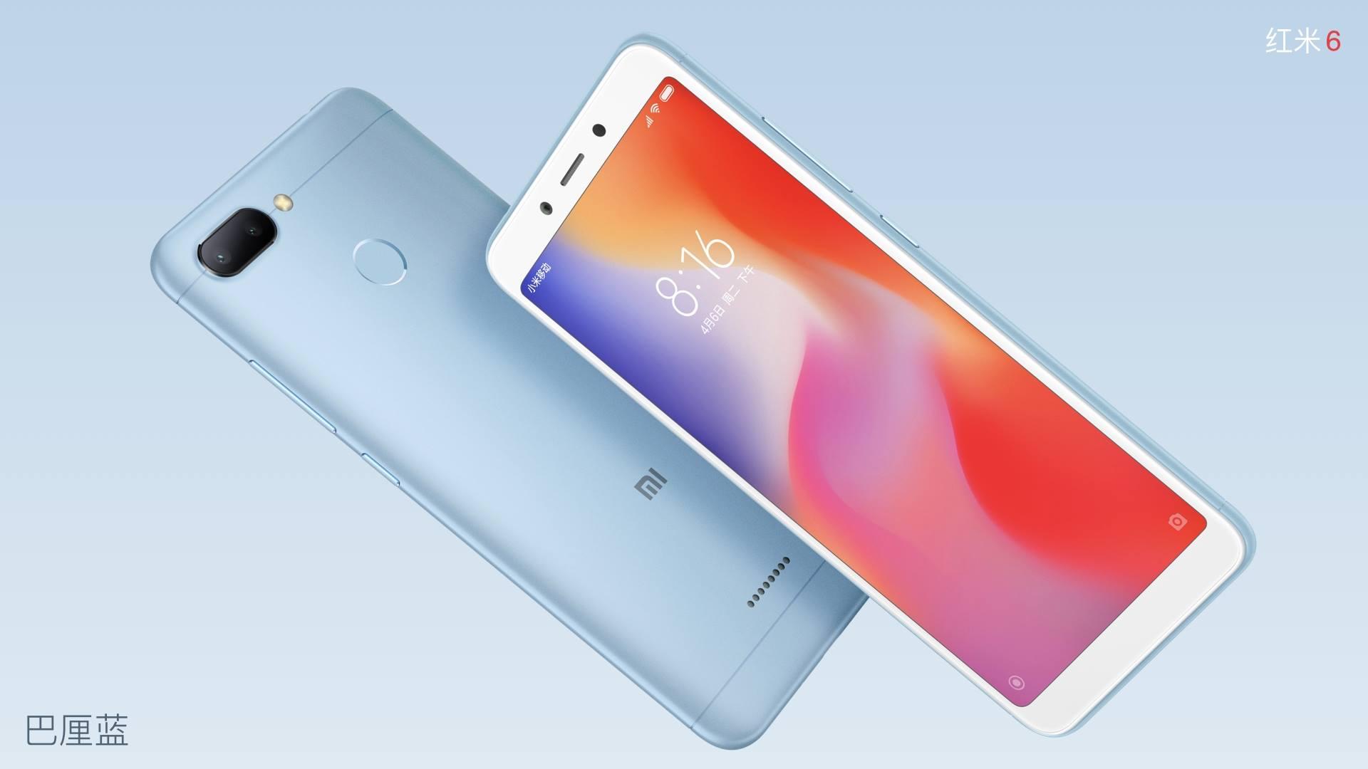 Xiaomi Redmi 6 y Redmi 6A