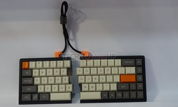 Mistel muestra nuevos teclados y PSU´s