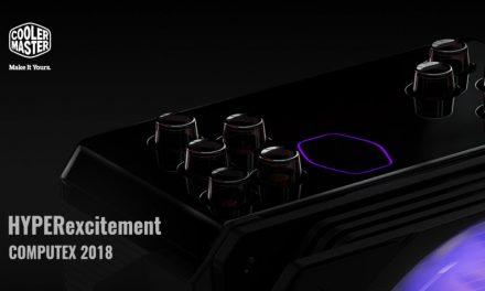 Cooler Master lanza los teasers de productos para Computex 2018