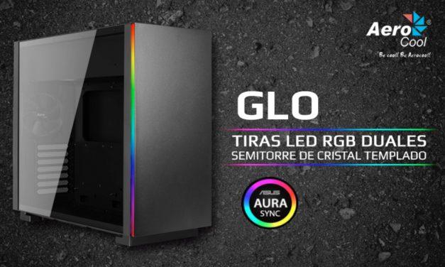 Aerocool GLO con tiras de LED RGB duales