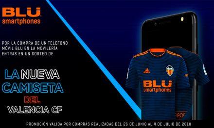 SORTEO nueva Camiseta del Valencia CF entre clientes BLU