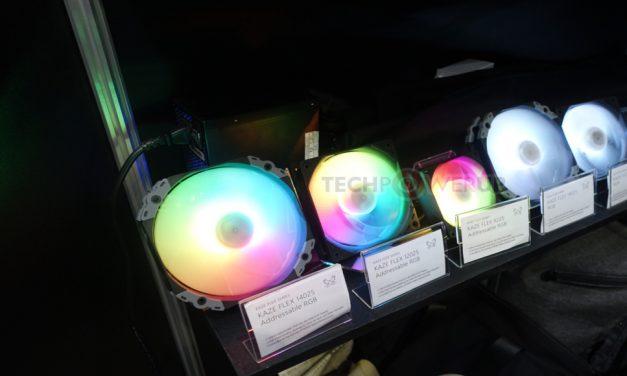 Scythe Kaze Flex RGB y ventiladores RGB direccionables