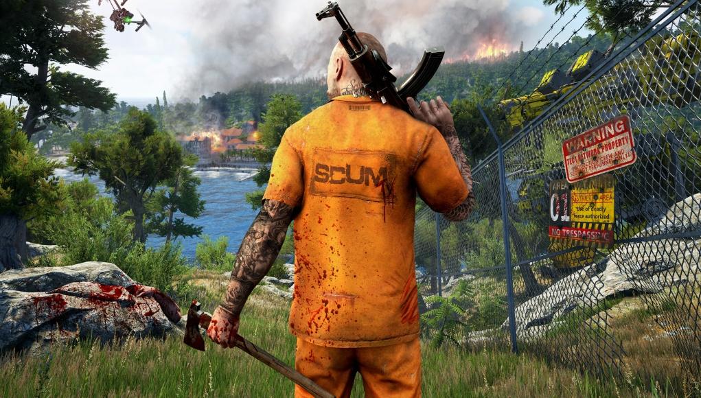 SCUM, el juego de supervivencia zombie en línea