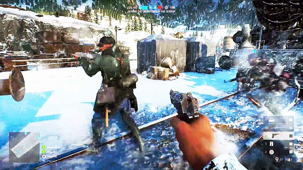 Battlefield 5 Multiplayer Gameplay Exclusive E3 2018
